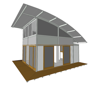 Single e.pod Render - Highlight Vaulted Roof